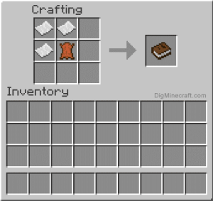 Add things to the Crafting book