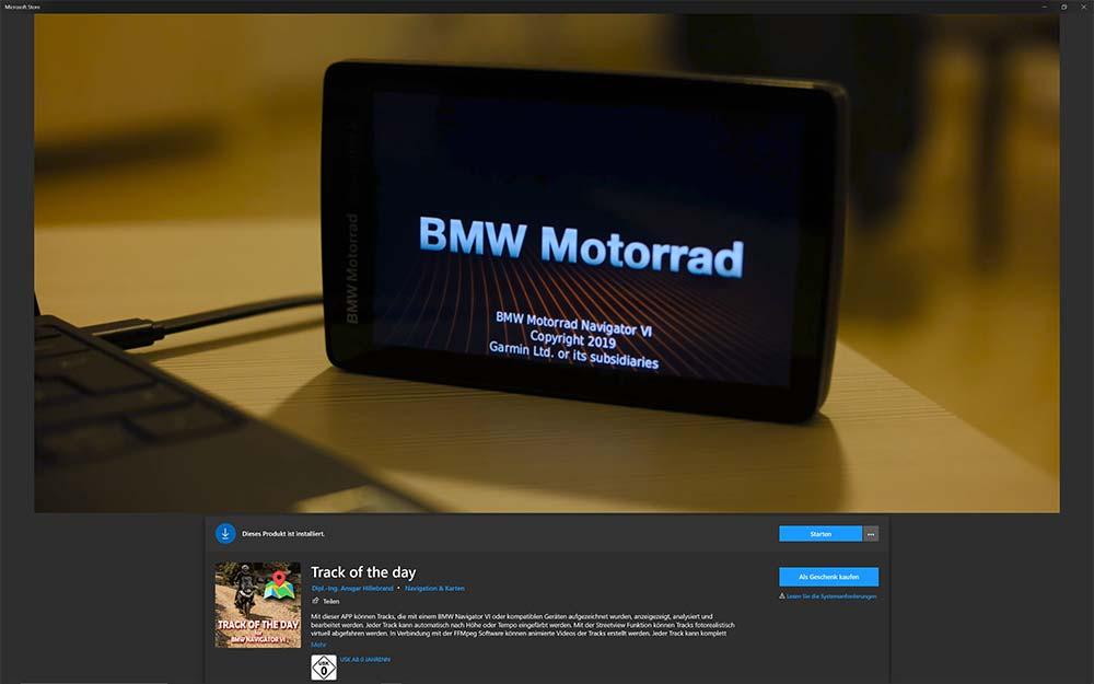BMW Motorrad Navigator