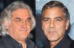 Paul Greengrass y George Clooney