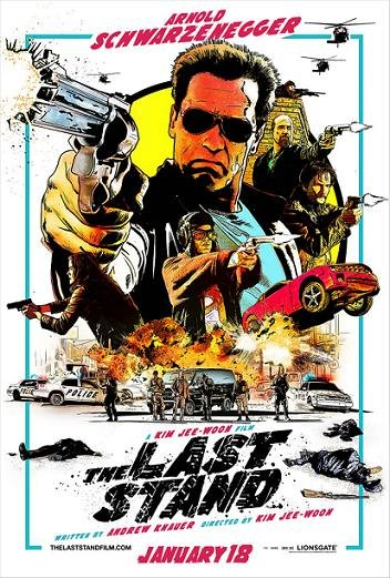 Imagen con el cartel de 'El último desafío'