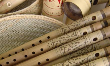 Cara Membuat Kerajinan Bambu Yang Mudah Untuk Seruling Bambu