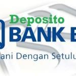 Suku Bunga Deposito Bank BRI Oktober 2016