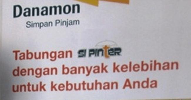 Tabungan Si Pinter Bank Danamon