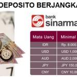 Deposito Berjangka Bank Sinarmas, Suku Bunga 5,5 Persen