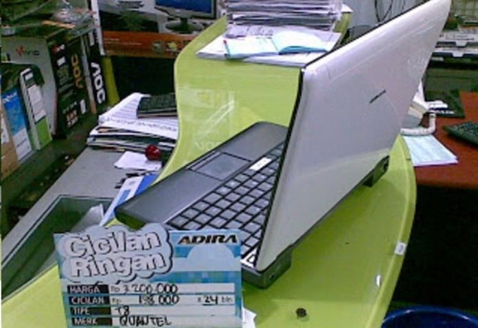 Kredit Laptop di Adira
