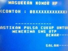 Daftar SMS Banking Mandiri