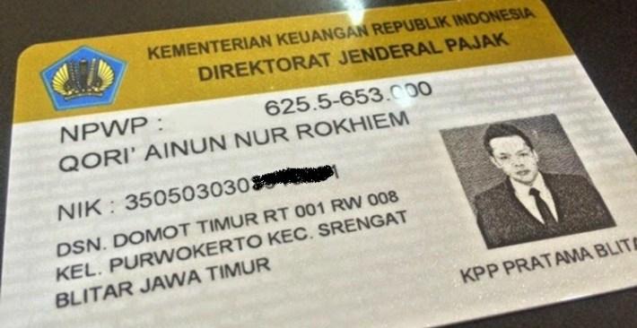 Kartu NPWP