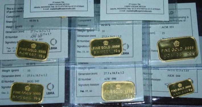Investasi Emas Batangan di Pegadaian