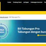 Syarat dan Ketentuan Buka Rekening Tabungan Pro BII Maybank