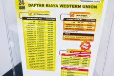Biaya Admin Kirim Uang Lewat Western Union