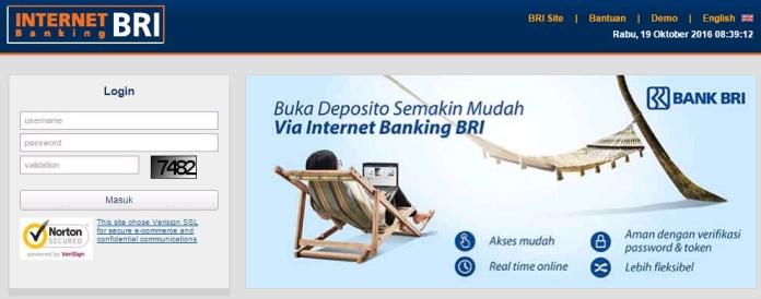 Internet Banking Bank BRI