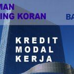 Pinjaman rekening koran bank BRI untuk modal usaha