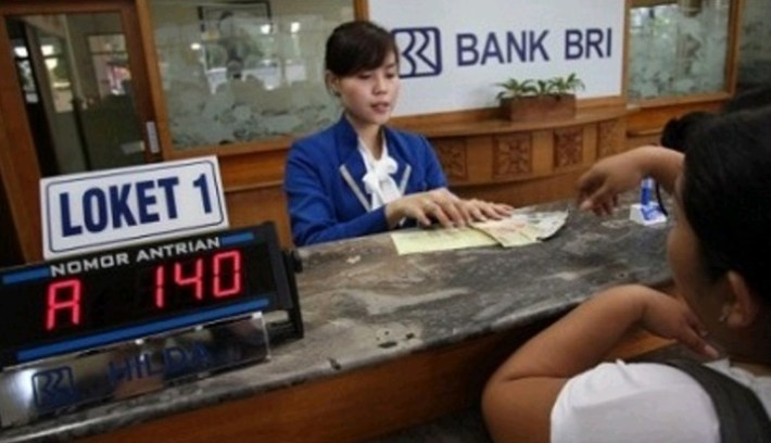 Transfer Lewat Teller Bank BRI