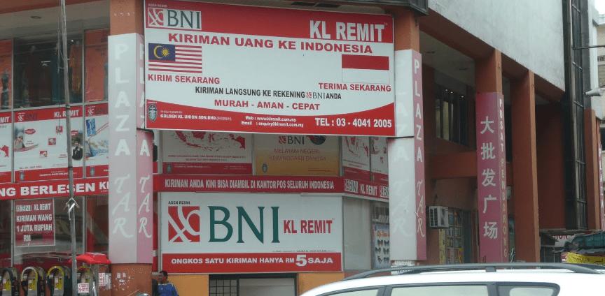 Bank BNI di Malaysia