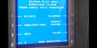 Isi Pulsa lewat ATM BNI