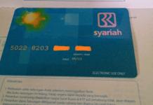 Kartu ATM Bank BRI Syariah