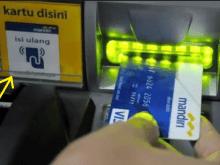 Isi Ulang e-Money Mandiri