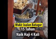 Penjual Batagor Naik Haji 4 kali