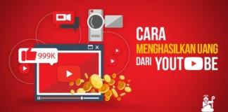 cari uang lewat youtube