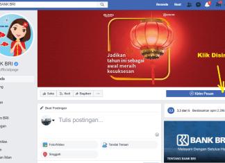 fanspage facebook bank bri