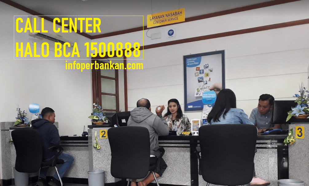 call center bca 1500888
