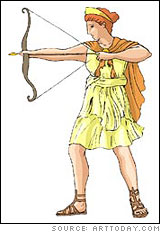 Artemis (Roman name: Diana)