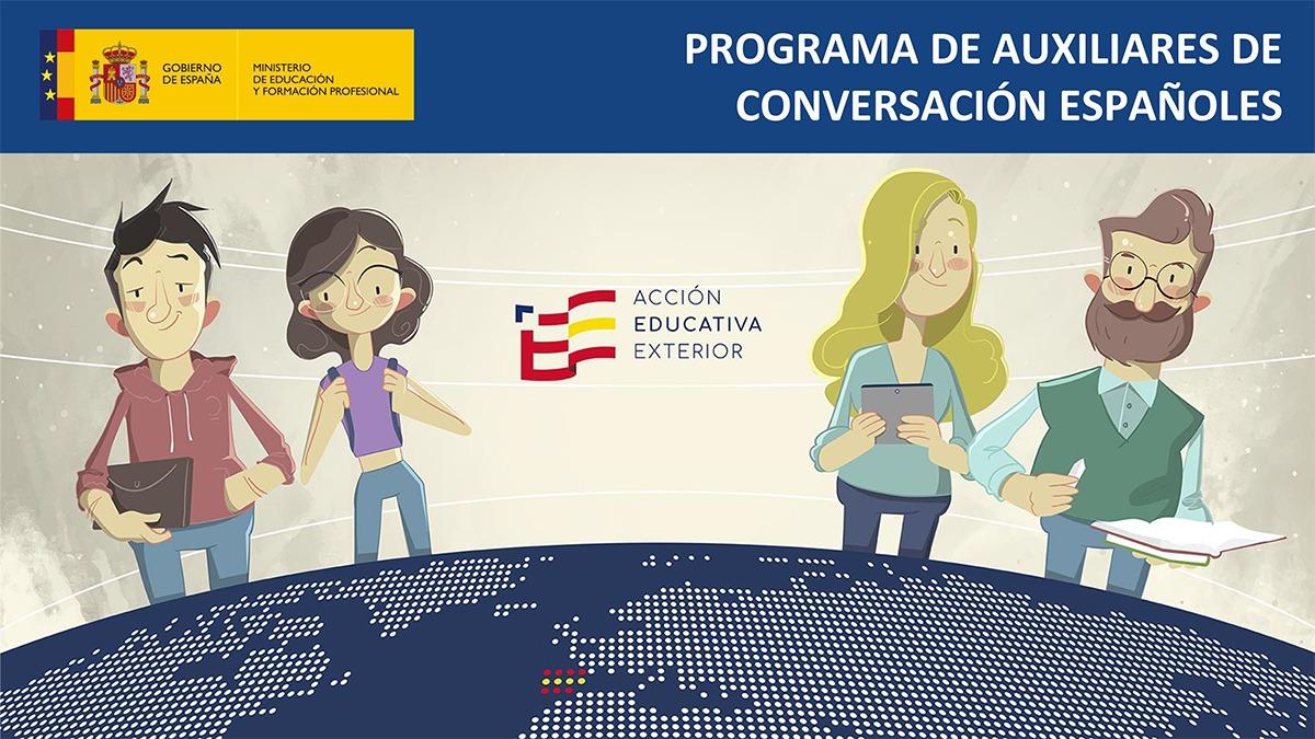 Convocadas oposiciones para cubrir 820 plazas de auxiliares de conversación españoles en el extranjero para el curso académico 2021-2022