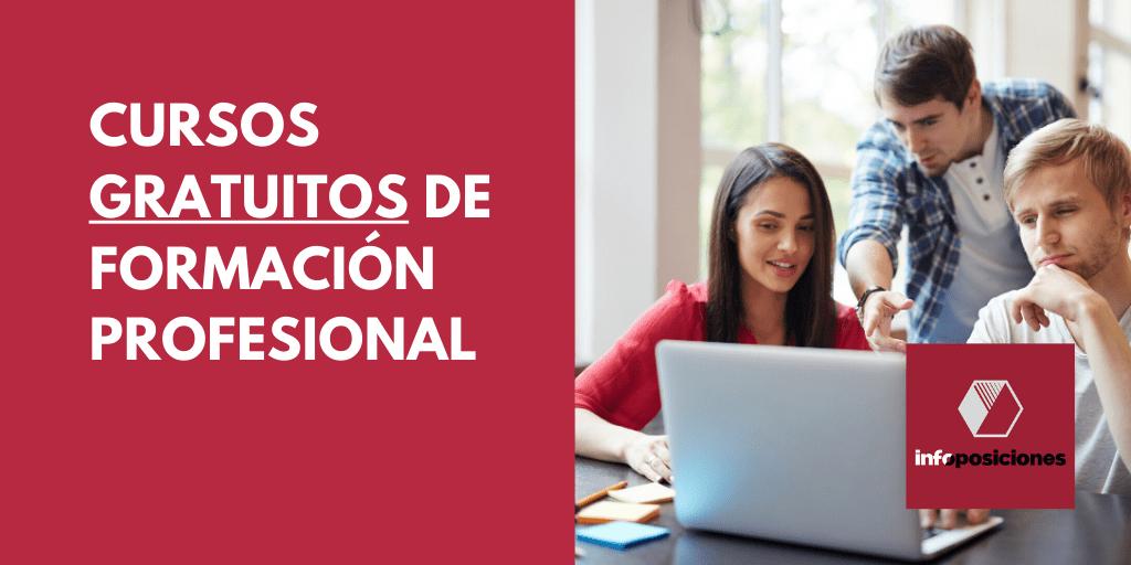 Cursos [GRATUITOS] de formación profesional para el empleo