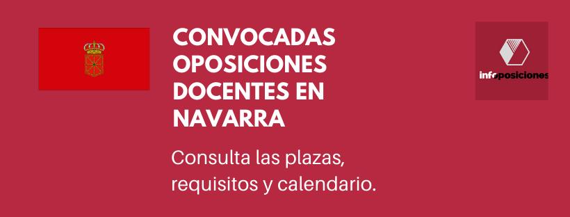 Convocatoria de oposiciones de personal docente correspondiente al año 2020.