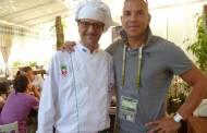 """Piero, bucătarul de la """"Gabi Firea Show"""" l-a întâlnit la Kiev pe fostul fotbalist Stanley Collymore"""