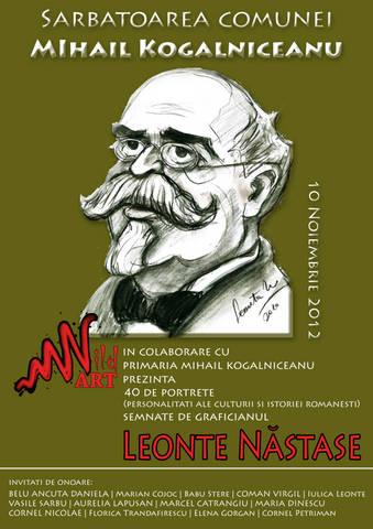 Expozitie Wid Art si Leonte Nastase  la Mihail Kogalniceanu