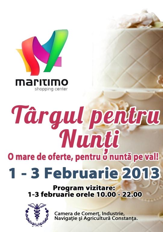 Targul Maritimo Mariaj, o mare de oferte si  servicii pentru o nunta pe val!