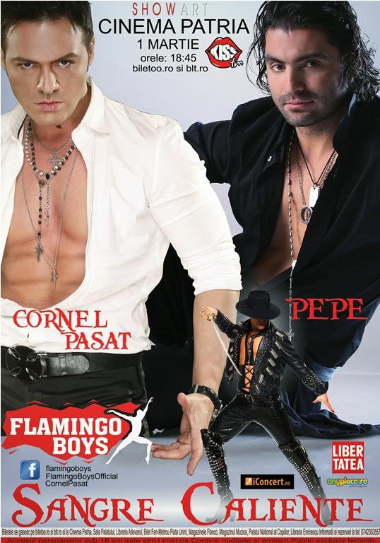 Un show incendiar de 1 Martie cu Pepe, Cornel Pasat si Flamingo Boys