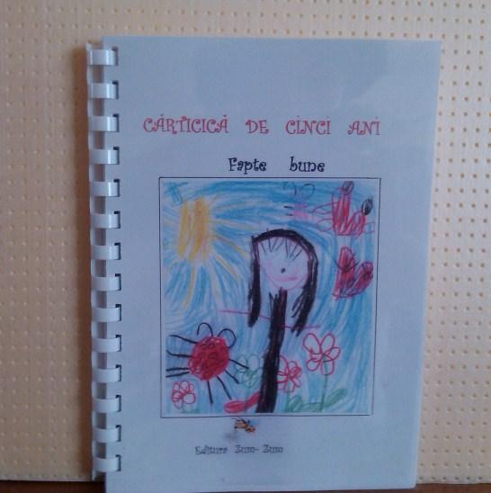 Copiii de la Grupa Zum-Zum, GOP 33 Constanta au lansat prima carte de poezii