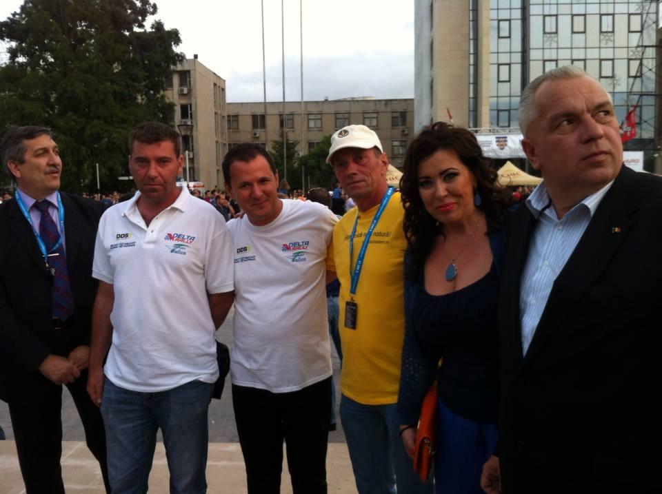 Raliul Deltei 2013 - A inceput spectacolul!