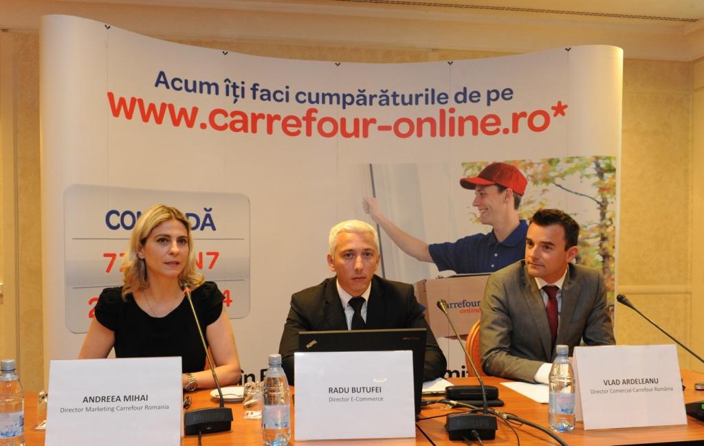 Grupul Carrefour lansează oficial în România magazinul său online pentru produse alimentare și de larg consum
