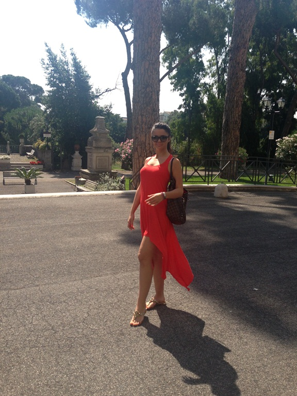 Francesca a fost in vacanta in Italia!