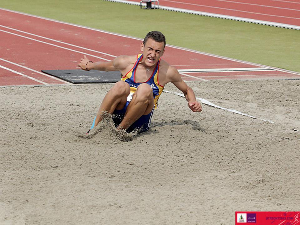 Aur pentru Valentin Scanghel la Campionatul Balcanic de atletism