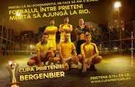 Fotbal pe heliport: s-a lansat Cupa Prieteniei Bergenbier.