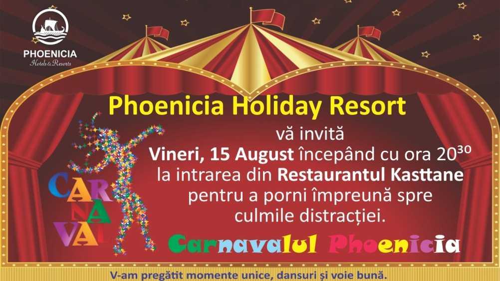 Carnavalul anului la Phoenicia Holiday Resort