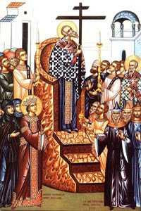 Inaltarea Sfintei Cruci este praznuita pe 14 septembrie