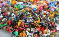 Mii de jucării susceptibile a fi contrafăcute, confiscate în P.T.F. Constanţa Sud Agigea