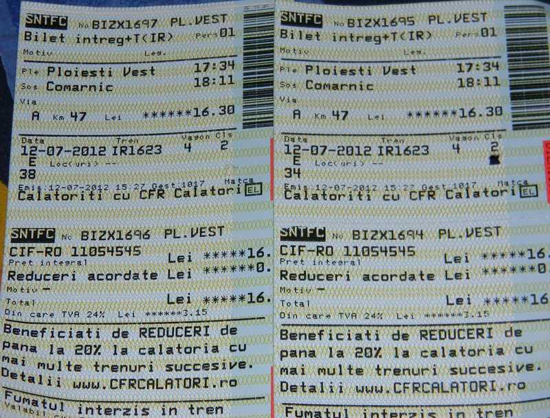 Cum achizitionam bilelte de tren online