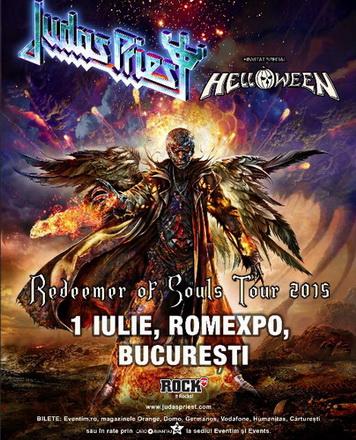 Helloween alături de Judas Priest pe scenă la București