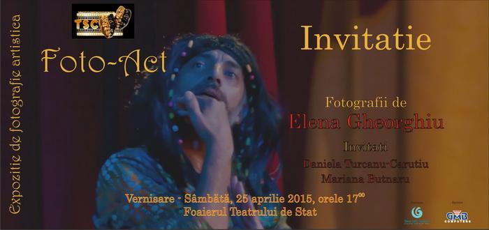 Foto – Act, expozitie de fotografie de teatru