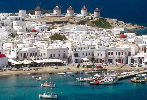 Destinații grecești preferate de români