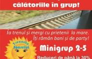 Programul estival Trenurile Soarelui