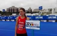 Antonela Manac prezenta la Campionatul  Mondial de Triatlon din  Chicago