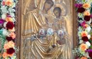 """Icoana Maicii Domnului adusă la biserica """"Sf. Haralambie"""" din Constanța"""