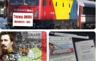 24 ianuarie: Trenul Unirii va face legătura între București și Iași